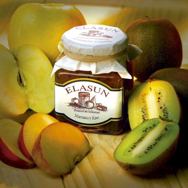 Mermelada de Manzana y Kiwi