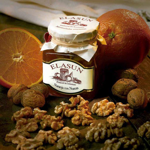 Mermelada de Naranja con Nueces